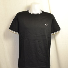 t-shirt fred perry m1588-102 zwart