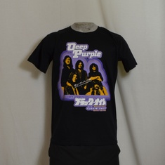 t-shirt deep purple japan