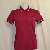 polo fred perry dames claret g3600-d75