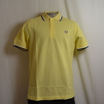 polo fred perry m1200-632 geel