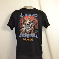t-shirt avenged sevenfold deadly rule