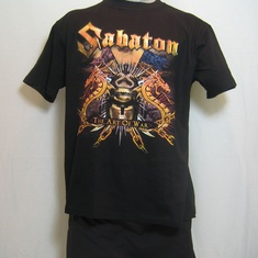 t-shirt sabaton art of war