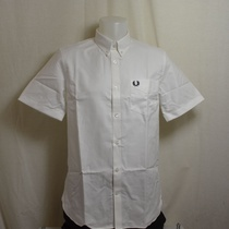 overhemd fred perry classic oxford wit m3531-100