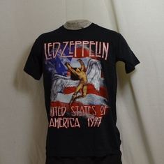 t-shirt led zeppelin united states of america