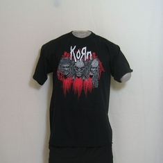 t-shirt korn band skullz