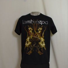 t-shirt lamb of god entageld bones