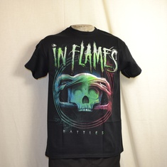 t-shirt in flames battles circle