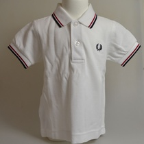 baby polo fred perry wit 748