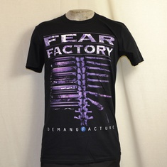 t-shirt fear factory demanufactured