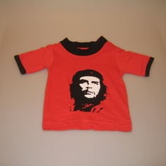 baby shirt che rood
