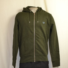 hooded vest fred perry j6314-d35 green