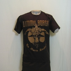 t-shirt dimmu borgir religion bronze