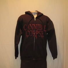 hooded vest cannibal corpse global evisceration