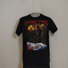 t-shirt cannibal corspe tomb of the mutelated
