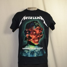 t-shirt metallica hardwired to selfdestruct