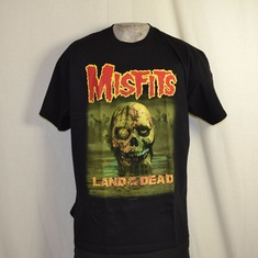 t-shirt misfits land of the dead