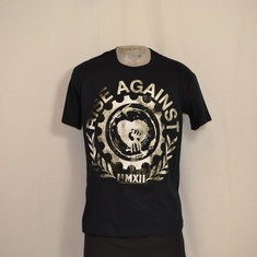 t-shirt rise against gearfist