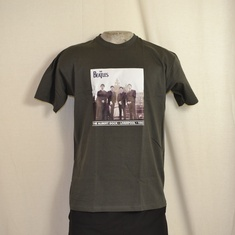 t-shirt beatles liverpool grijs