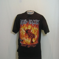t-shirt iced earth burnt offerings