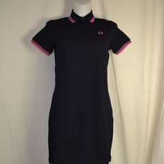 polo dress fred perry d3600-c11 navy
