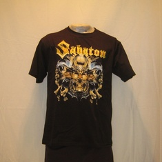 t-shirt sabaton metalizer