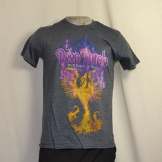 t-shirt deep purple phoenix rising