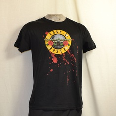 t-shirt guns and roses bullet