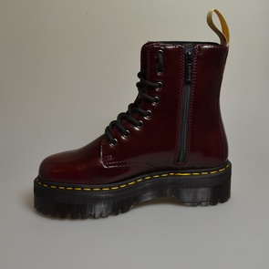 dr martens jadon 2 cherry red