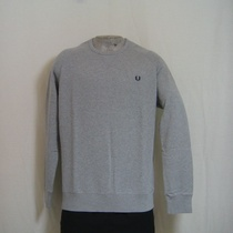crewneck sweater fred perry grijs m1217-250