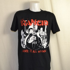 t-shirt rancid honor is all we know