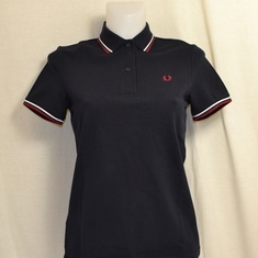 polo fred perry dames navy g3600-f89