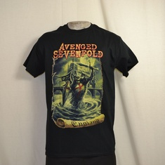 t-shirt avenged sevenfold england
