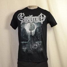 t-shirt ensiferum sword and runes