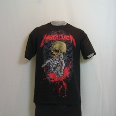 t-shirt metallica alien birth