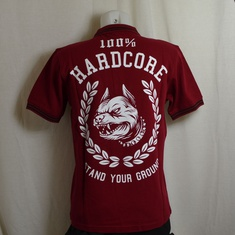 polo hardcore stand your ground rood