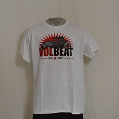 t-shirt volbeat cars wit