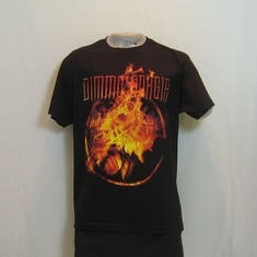 t-shirt dimmu borgir flames