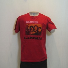 t-shirt the doors la woman rood