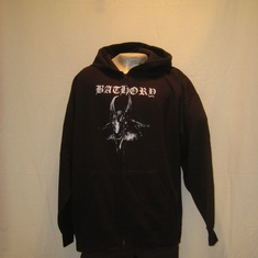 hooded vest bathory goat