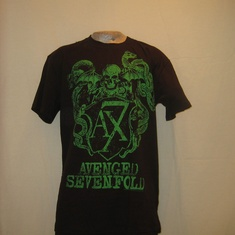 t-shirt avenged sevenfold crest