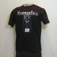 t-shirt hammerfall immortalized