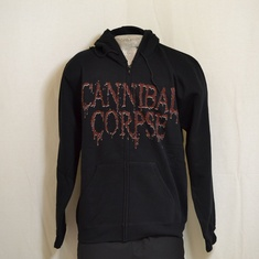 hooded vest cannebal corps torture