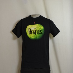 t-shirt beatles apple logo