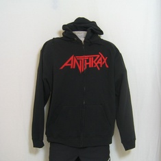 hooded vest anthrax worship
