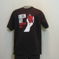 t-shirt greenday american idiot