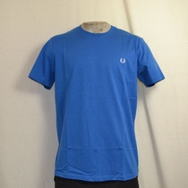 fred perry crew neck t-shirt blauw
