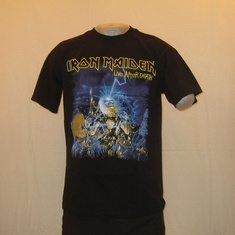t-shirt iron maiden live after death