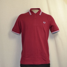 polo fred perry m12-106 bordeaux