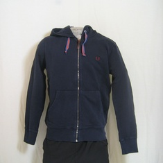 hooded vest fred perry j1218-704 navy