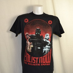 t-shirt star wars enlist now